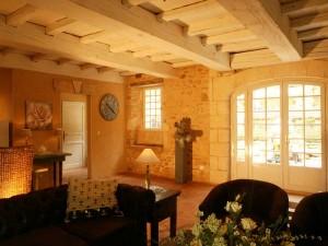 Livingroom Maison Les Rosiers